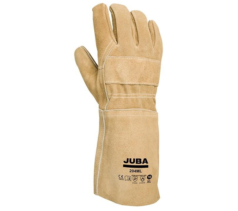 Guante Juba 204ML JUBA 10/XL Beige (10 pares)