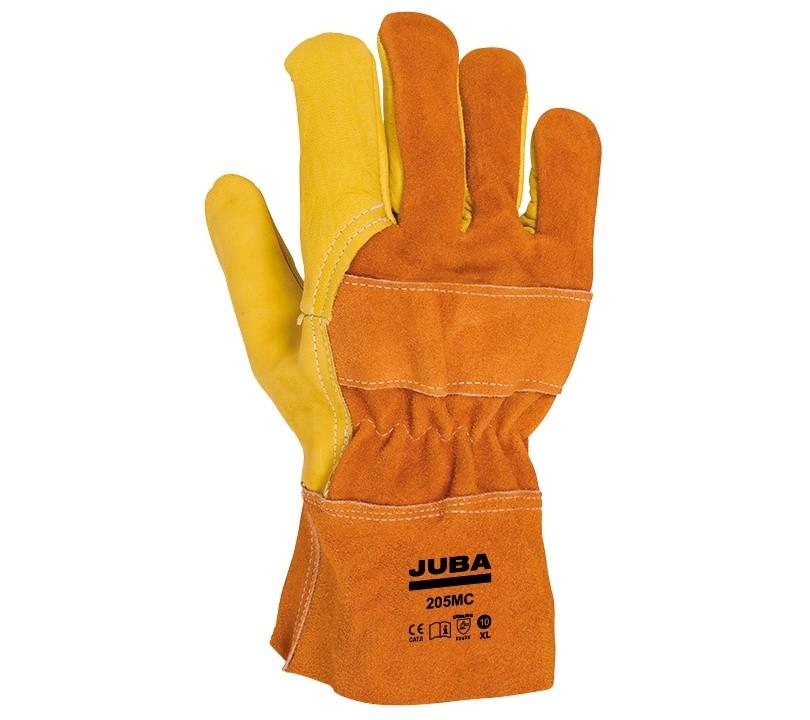 Guante Juba 205MC JUBA 10/XL Amarillo / Naranja (10 pares)