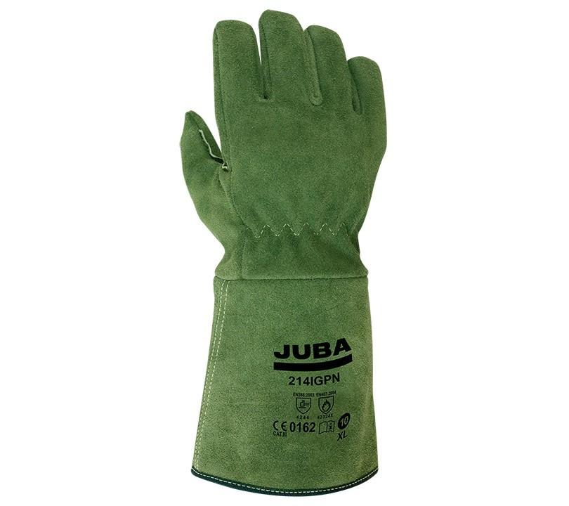 Guante Juba 214IGPN JUBA 10/XL Verde (5 pares)