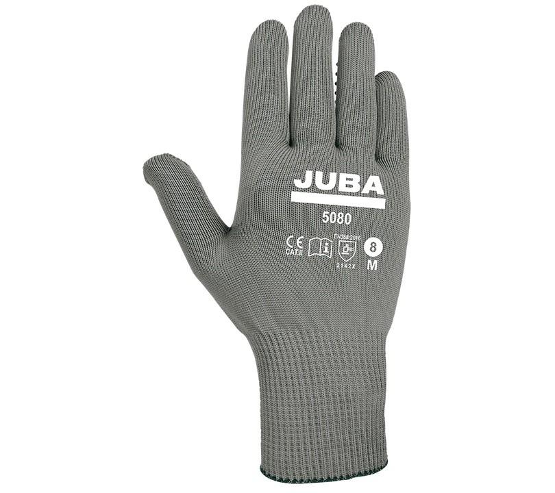 Guante Juba 5080 JUBA 7/S Gris (12 pares)