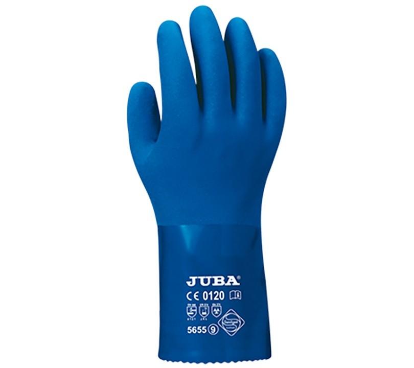 Guante Juba 5655 JUBA 8/M Azul (12 pares)