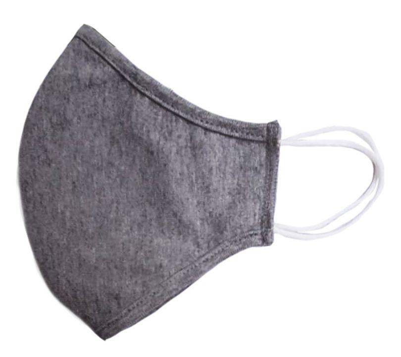 Mascarilla textil reutilizable MASK020GY (5 unidades)