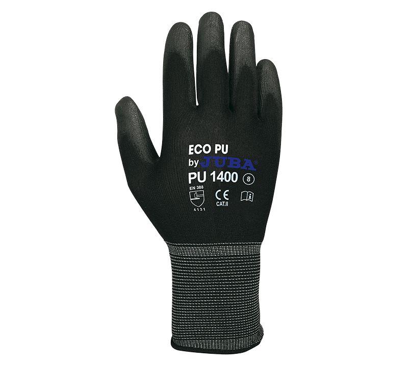 Guante Juba PU1400 ECO-PU 9/L  (10 pares)