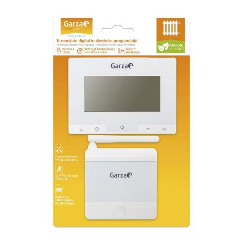Termostato Garza para caldera y calefacción programable sin hilos Garza