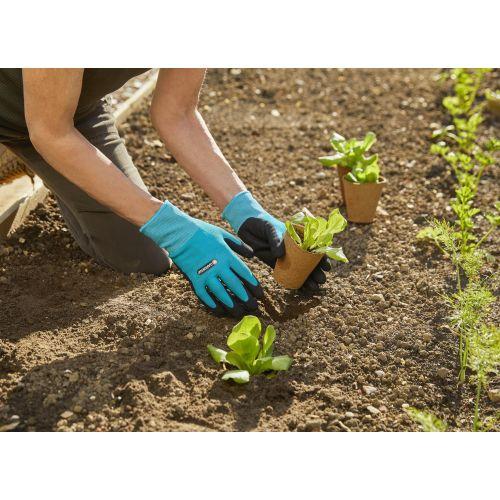 Guantes para plantar y tierra XL