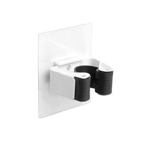 Colgador removible para escobas / blanco