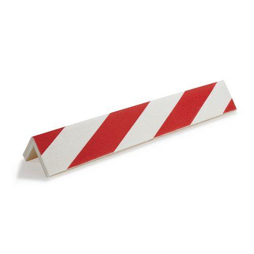 Protector parking para cantos / rojo-blanco