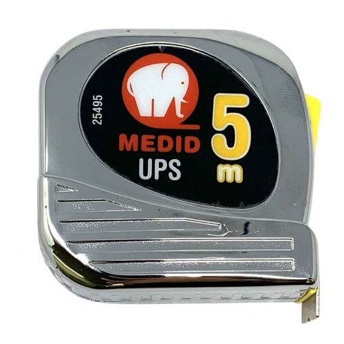 Flexómetro est cromado UPS + Nylon Coated 5mx19mm