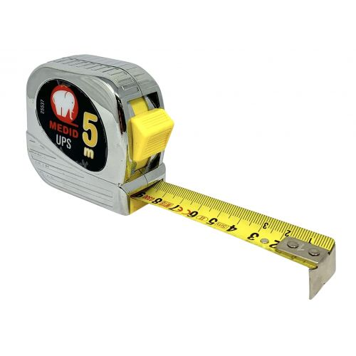 Flexómetro est cromado UPS + Nylon Coated 5mx25mm