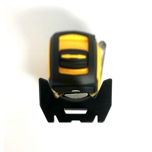 Flexómetro Heavy Duty, con cinta más ancha DE 32 mm.