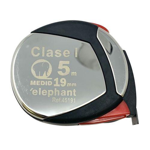 Flexometro clase I estuche acero inox y elastollan 5mx19mm