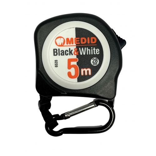 Flex BLACK & WHITE 5m 28 mm ref.6528