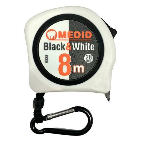 Flex BLACK & WHITE 8m 28 mm ref.6828