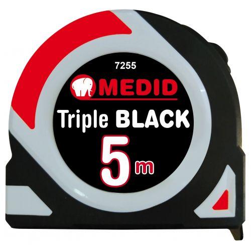 Flexom.5M Triple Black ref.7255 Fondo negro impreso en blanco