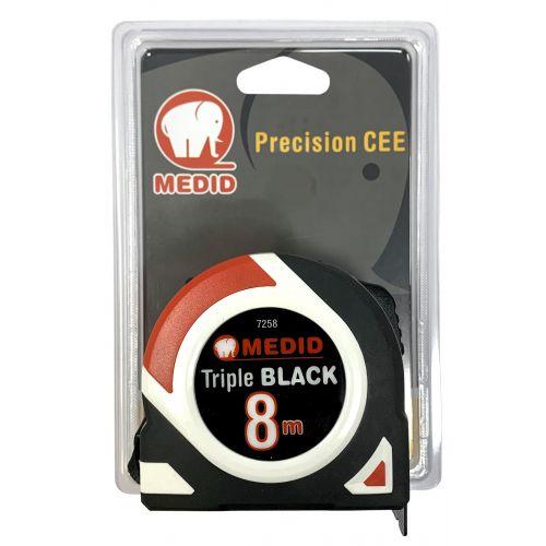 Flexom.8M Triple Black ref.7258 Fondo negro impreso en blanco
