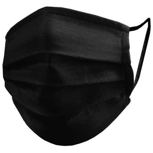 M150/B Mascarilla higiénica reutilizable, color negro.