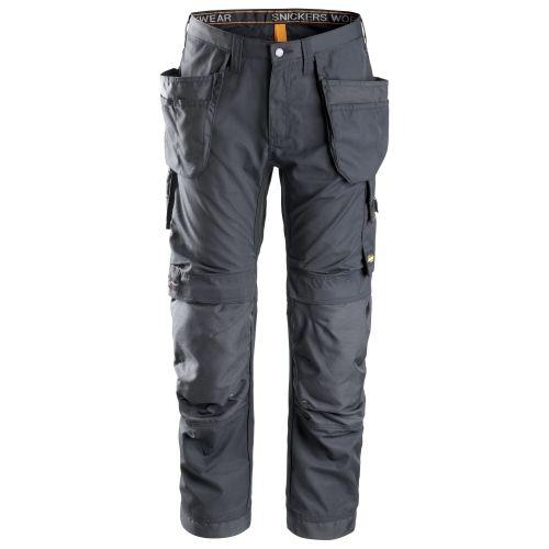 Pantalones largos de trabajo AllroundWork bolsillos flotantes 6201