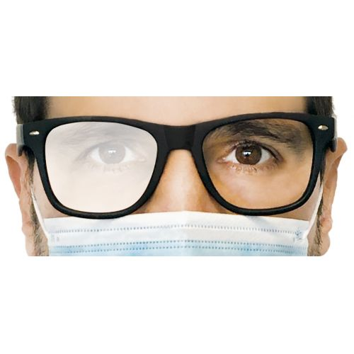 Spray antivaho nanotecnológico para lentes de gafas en caja de 25 uds.