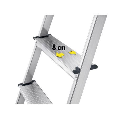 Escalera de tijera de aluminio L40 EasyClix FR