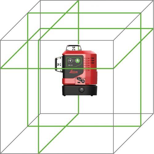 Nivel láser de 3 líneas verdes de 360 grados Lino L6Rs