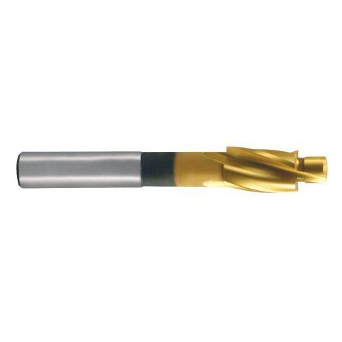 Avellanador plano DIN 373 HSS-TiN paso medio