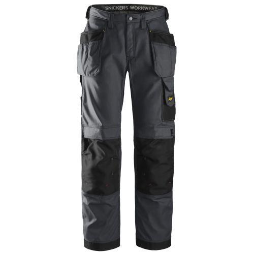 Pantalones largos de trabajo Rip-Stop bolsillos flotantes 3213