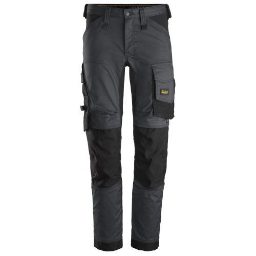 Pantalones largos de trabajo elásticos AllroundWork Slim Fit 6341