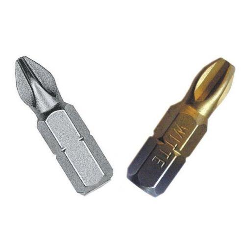 Puntas Phillips de 25 mm en blister perforado