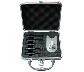 Juego 5 brocas en maletín aluminio CERADRILL