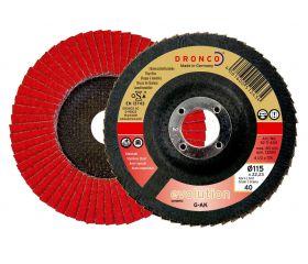 Disco de láminas abrasivo cerámico G-AK