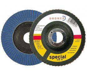 Disco de láminas abrasivas zirconio (base abombada) G-AZ