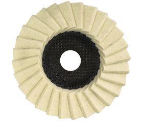 Discos de láminas de fieltro para pulir/abrillantar POLIMAXX 4