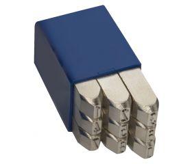 Numeraciones Nº 1 extra-extra - Especial para acero Inox