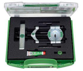 Juego con separador de rodamientos y tornillo de presión rápida