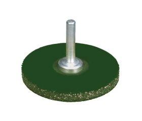 Cepillos circulares ondulados encapsulados - Vástago 6mm