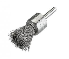 Cepillos pincel alambre ondulado - Vástago 6mm