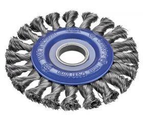 Cepillos circulares alambre trenzado - Agujero 22,2mm
