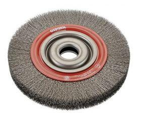 Cepillos circulares de alambre ondulado con agujero multieje