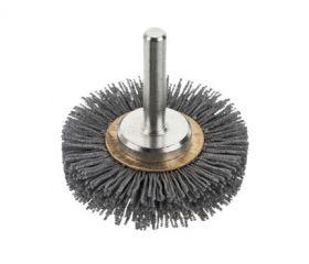 Cepillos circulares filamento abrasivo - Vástago 6mm