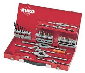 Juego herramientas de roscar de 44 piezas