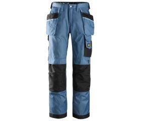 Pantalones largos de trabajo DuraTwill bolsillos flotantes 3212