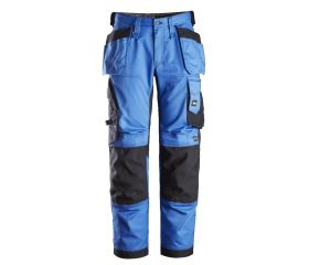 Pantalones largos de trabajo elásticos ajuste holgado y bolsillos flotantes AllroundWork Loose Fit 6251
