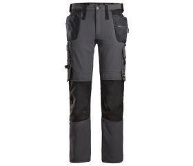 Pantalones largos de trabajo elásticos bolsillos flotantes AllroundWork 6271