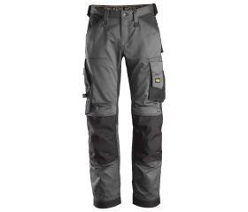 Pantalones largos de trabajo elásticos ajuste holgado AllroundWork Loose Fit 6351