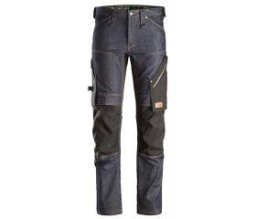 Pantalones largos de trabajo en tejido vaquero FlexiWork 6956
