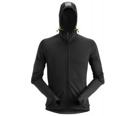 Sudadera elástica de forro polar con capucha y cremallera FlexiWork Polartec® Power Stretch® 2.0 8002
