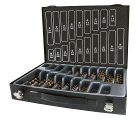 Maletín-almacén brocas DIN 338 tipo N HSS rectificadas 170 piezas