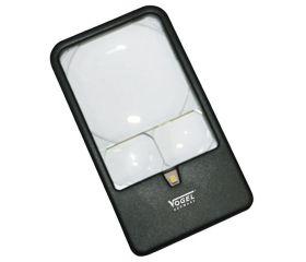 Lupa de bolsillo con LED
