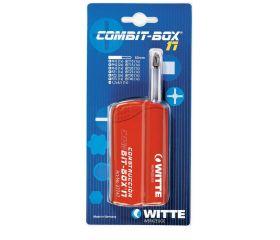 Caja de puntas de atornillar COMBIT-BOX 17 blíster