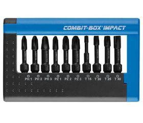 Juego de 10 puntas de impacto en COMBIT-BOX